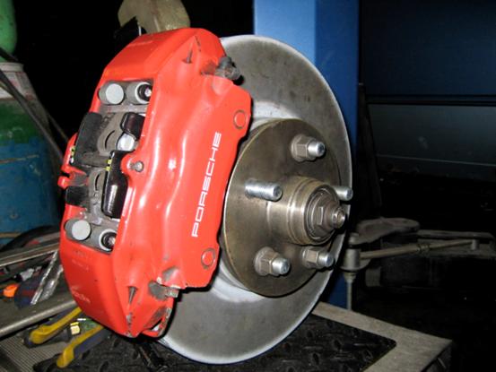 Ultimate Engineering - Volkswagen T3/T25 Front Disc Brake Kit