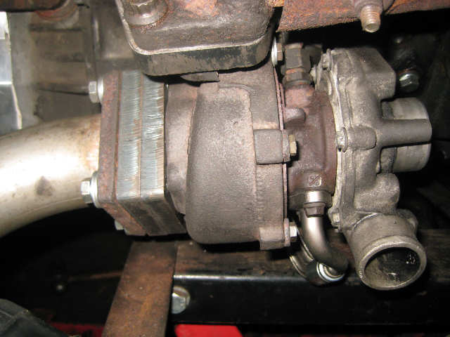 TDI turbo adaptor